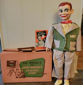 Jerry Mahoney Ventriloquist Dummy from 1954