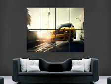 FORD MUSTANG BOSS POSTER WALL ART PICTURE PRINT GRANDE ENORME