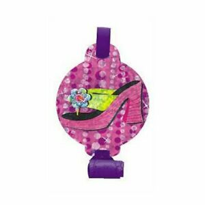 Glitzy Girl Butterfly Shopping Fancy Pink Kids Birthday Party Favor Blowouts
