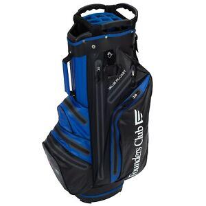 Founders Club Waterproof Golf Cart Bag Ultra Dry Light Weight 14 Way Divider