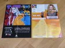 LARA FABIAN - MA VIE DANS LA TIENNE!!  MEGA RARE PROMO PRESS/KIT POSTER