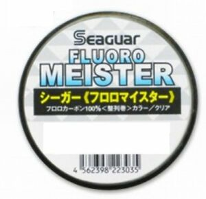 NEW Seaguar Fluoro Meister 240m 20lb #5 Clear 0.370mm Fluorocarbon Line Japan