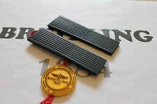 100% Genuine New Breitling Black Ribbed Diver Pro Rubber Deployment Strap 24-20
