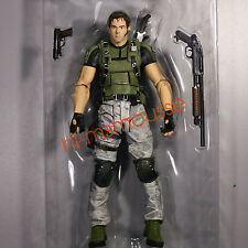 NECA Resident Evil 5 Chris Redfield 1:12 7 inch Action Figure Collection Loose
