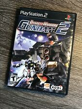 Dynasty Warriors: Gundam 2 (PlayStation 2, PS2) RARE, COMPLETE - FREE SHIPPING