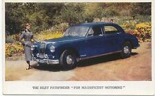 Riley Pathfinder Original Factory Issued colour Postcard No Pub. No. and n/d