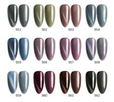 12colors/kit VIP Galaxy Starry Aerolite Cat Eye GEL POLISH Soak off UV LED