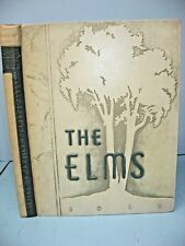 1938 Elms, State Teachers College, Buffalo, New York Yearbook