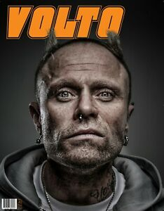 VOLTO Magazine Edition#1 - Keith Flint, The Prodigy cover.