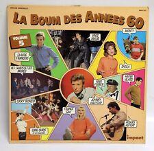 LA BOUM DES ANNEES 60 vol 5 33 Tour Johnny Hallyday Sheila Claude François G VG+