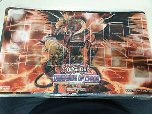 Dimension Of Chaos Sneak Peek Play Mat unsealed played