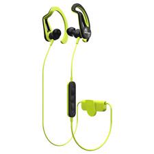 Pioneer SE-E7BT Yellow Bluetooth Sports Earphones. Sweat and Rain Resistant