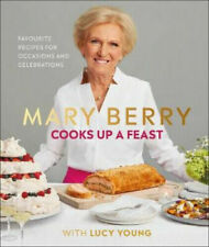 MARY BERRY COOKS UP A FEAST WITH LUCY YOUNG COOKBOOK :B19-1