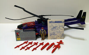 G.I. Joe 1987 Cobra Mamba Helicopter 100% Complete in Excellent Condition