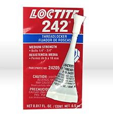 LOCTITE 24205 Threadlocker 242, 0.5mL Bottle tube, Blue