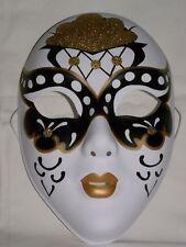 Beautiful Designed Party Mask, Gold, Black, & White !