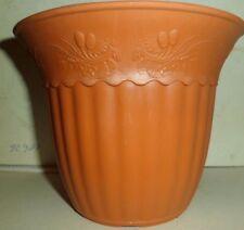 10 Stück Blumentopf/Übertopf   Durchmesser 10 cm - Höhe 12 cm -Terracotta -
