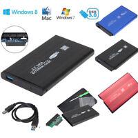 "USB 3.0 SATA 2.5"" Hard Drive Mobile Disk External Enclosure HDD Case Box LOT"