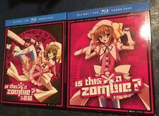 Is This a Zombie?: Complete Series Seasons 1 & 2 Box / DVD Blu-ray Combo Set(s)