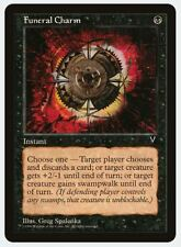 MTG X4: Funeral Charm, Visions, C, Moderate Play - FREE US SHIPPING!