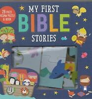 My First Bible Stories, 28-piece Jigsaw Puzzle Book by Make Believe Ideas Ltd