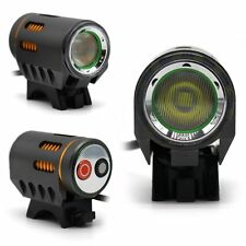 Floodlight 1800LM CREE T6 LED Bike Bicycle Light Headlight(Only Light) Gray