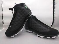 Nike Air Jordan Retro 13 XIII Baseball Cleats Black [AJ8016-001] Men's Size 13