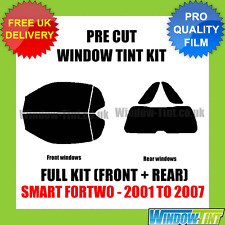SMART FORTWO 2001-2007 FULL PRE CUT WINDOW TINT KIT
