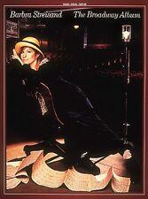Barbra Streisand The Broadway Album Sheet Music Piano Vocal Guitar Son 000358239