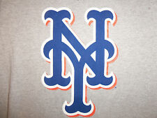 MLB Majestic New York Mets Baseball Team Grey  90/10 Graphic Print T Shirt S