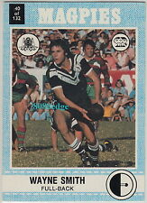 1977 SCANLENS RUGBY LEAGUE TRADING CARD #40: WAYNE SMITH -WESTERN SUBURB MAGPIES