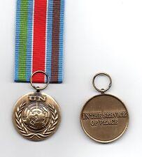 Miniature United Nations Bosnia Medal UNPROFOR