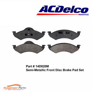 FRONT Brake Pad For Dodge Dakota Durango AC Delco Pads Ceramic Set 14D820M