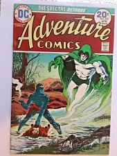 Adventure Comics #432-1974 vf Spectre / Jim Aparo Captain Fear