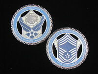 US Air Force Presented by the Chief Master Sergeant Challenge Coin