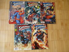 Superman uncained 1,2,3,4,5 completamente Panini Comics