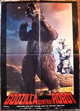 SOGGETTONE ORIGINALE GODZILLA CONTRO I ROBOT 74 Godzilla vs mechagodzilla