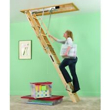 Attic Ladder Stairs Pull Down Steps Wood Louisville Ladders Ceiling Access Home