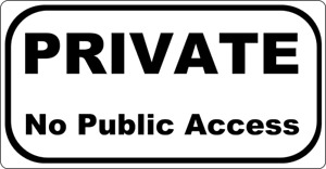 PRIVATE No Public Access - METAL SIGN - LANE DRIVE ENTRANCE ROAD PATH FOOTPATH 0
