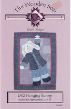 Hanging Bunny Quilt Sewing Pattern Wall Hanging 22 x 30