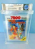 DARK CHAMBERS - Atari 7800 - WATA GRADED -- 9.2 A+ - BRAND NEW