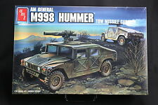 XG011 AMT 1/35 maquette vehicule 8672 AM General M998 Hummer tow missile carrier