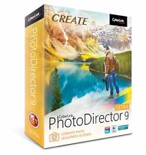 Create CyberLink PhotoDirector 9 Ultra Photo Adjustment & Design Mac or PC