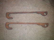 JCB Q fit weld on loader brackets linkage telescopic telehandler loadall