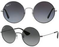 Ray-Ban Damen Herren Sonnenbrille RB3592 004/T3 50mm Ja-Jo polarisiert rund F8 H