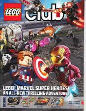 LEGO CLUB Magazine MAY JUNE 2016 Marvel Star Wars Mixels Ninjago + Comics Poster