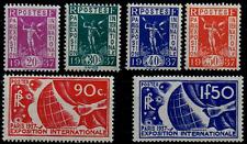 TIMBRES FRANCE année 1936 Série n°322 au n°327 NEUF*