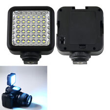 36 LED  Pro Video Light Rechargeable Battery for DV Canon Nikon Camera Camcorder