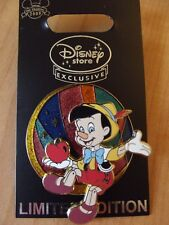 Pinocchio With Apple Disney Pin LE 1000 New Pin 68049