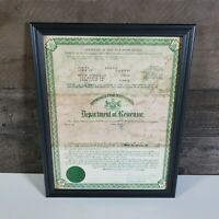 1953 Studebaker Coupe Certificate of Title Pennsylvania Department of Revenue